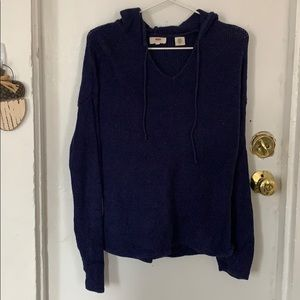 Levi's hooded knit sweater